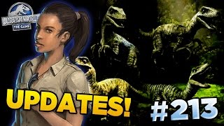 RAPTOR SQUAD! TRADE HARBOR! NEW HYBRIDS!!! || Jurassic World - The Game - Ep213 HD