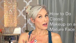 Video How to Do Classic Makeup on a Mature Face MP3, 3GP, MP4, WEBM, AVI, FLV September 2018