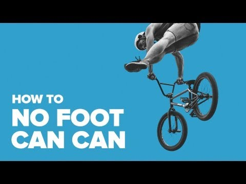 No foot can-can