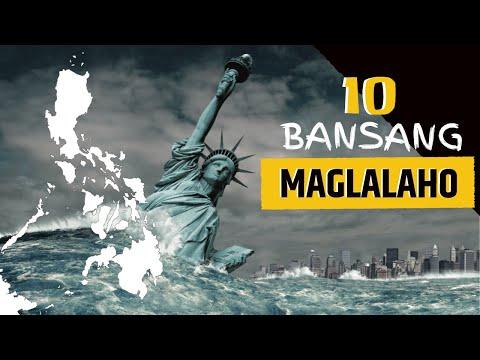 10 BANSA na malapit nang MAGLAHO sa MUNDO? | Global Warming | Climate Change | Tuklas Kaalaman PH