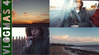 A GETAWAY TO THE OCEAN // Vlogmas Day 4 (12.7.17) by Silenced Hippie