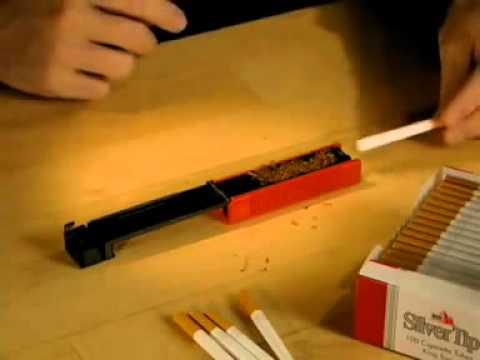 Как самому сделать машинку для набивки сигарет табаком
