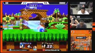 The Fastest Nerds in SoCal Throw Down! Aion (Sonic) vs. Zenokidz (Shadow)!