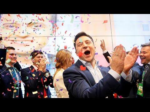 Ουκρανία: Ποικίλες αντιδράσεις από την εκλογή Ζελένσκι…
