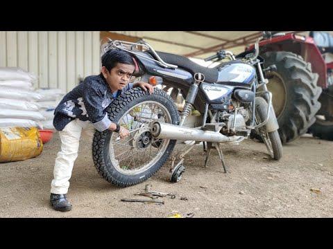 CHOTU DADA CYCLE MECHANIC | छोटू दादा साइकल मेकानिक | Khandeshi Hindi Comedy |Chottu New comedy 2020