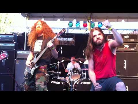 Black Breath - Unholy Virgin @ CHBP 2010 HD online metal music video by BLACK BREATH
