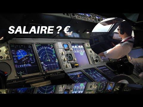 COMBIEN GAGNE UN PILOTE DE LIGNE ? ???? ✈️