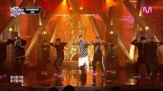 2013년 11월 14일 목요일 태양 _링가링가 RINGA LINGA by TAE YANG@Mcountdown 2013.11.14 Mnet Mcountdown airs every Thursday 6pm(KST) Enjoy ...