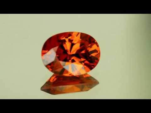 8.78 ct Oval Spessertite Garnet