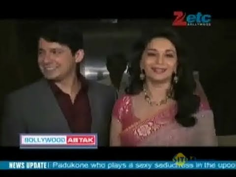Madhuri and hubby spotted at Registrar's office in