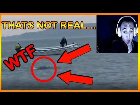 12 MYSTERIOUS UNDERWATER CREATURES CAUGHT ON TAPE (REACTION)