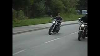 5. Honda Hornet vs. Chopper with ZZR engine