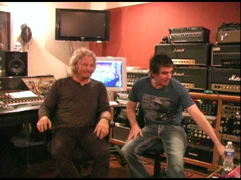 Matt Sorum with Mark Loughman from BAE