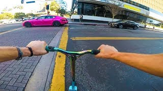 STREET SCOOTERING IN LOS ANGELES!
