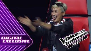 Video AgnezMo Melet-Melet Kenapa Nih?   Coach Reaction #3   The Voice Kids Indonesia Season 3 GTV 2018 MP3, 3GP, MP4, WEBM, AVI, FLV Agustus 2018