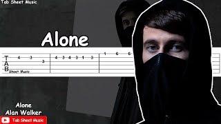 Video Alan Walker - Alone Guitar Tutorial download in MP3, 3GP, MP4, WEBM, AVI, FLV Juni 2017