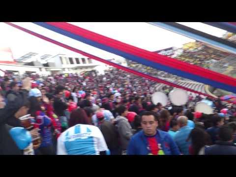 La MAFIA AZUL GRANA entrando - Mafia Azul Grana - Deportivo Quito