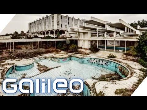 Lost Places Kroatien: Luxus-Hotel nur noch eine Ruine! | Galileo | ProSieben