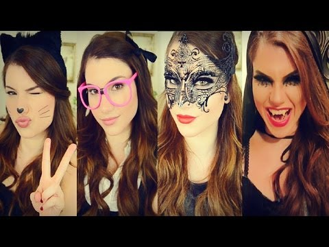 4 Last Minute Halloween Ideas: Makeup, Hair, + Costumes!
