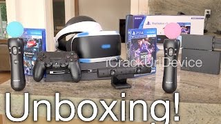 PlayStation VR: Unboxing & Review Setup! (PSVR)