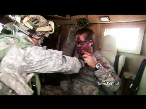 Training for the Worst Day in Iraq (KCBS-TV)