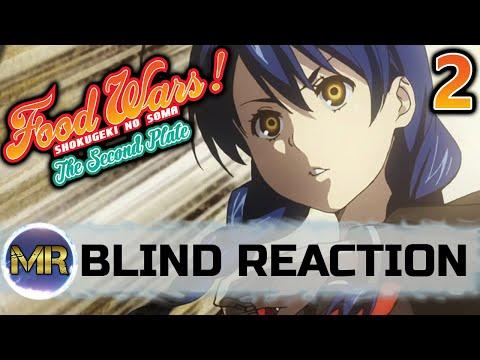 Food Wars Season 2 Episode 2 BLIND REACTION | THIS BATTLE!!!