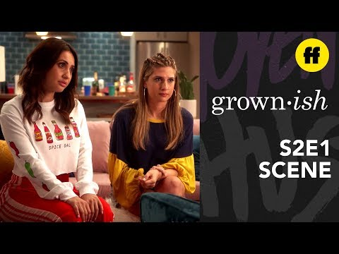 "grown-ish Season 2, Episode 1 | Zoey And Luca's ""Romantic"" Reunion 