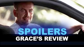 Furious 7 Movie Review - SPOILERS - Paul Walker End Scene : Beyond The Trailer