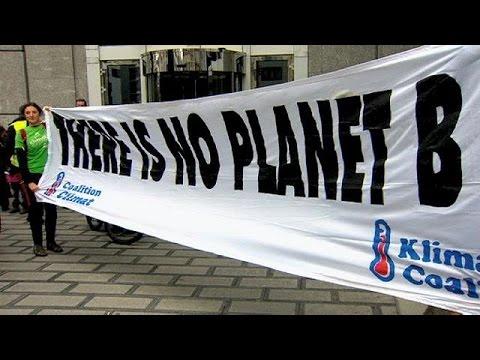 Βρυξέλλες: Διαδήλωση για την κλιματική αλλαγή