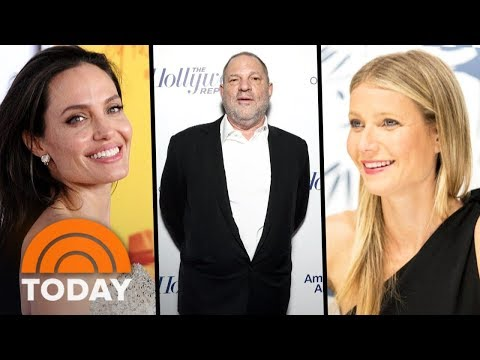 Harvey Weinstein Sex Scandal: Gwyneth Paltrow And Angelina Jolie Speak Out | TODAY