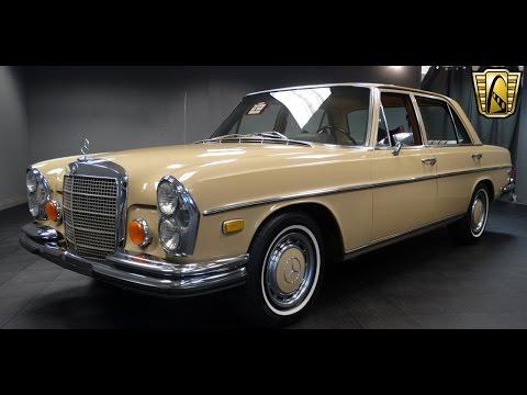1973 Mercedes Benz 280 SEL Stock # 639-DET