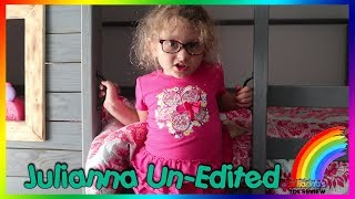 Julianna Pitches Her First Video Idea… So We Filmed It!
