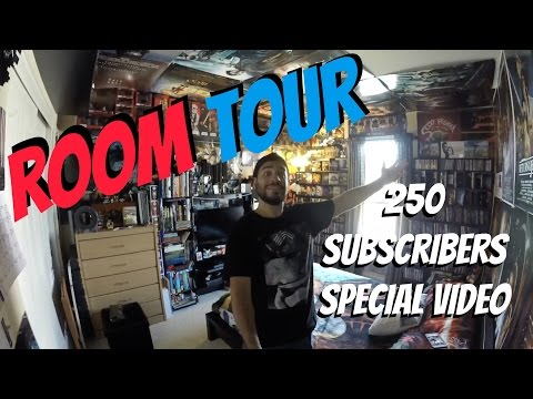 Room Tour - 250 Subscriber Special