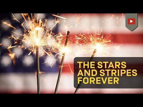 Stars and stripes forever march