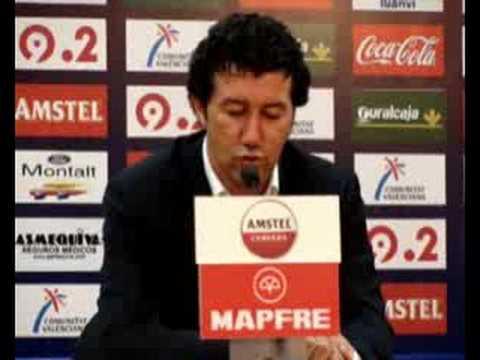 Entrevista de Prensa a Mandiá (Levante 0 - Hércules 2)