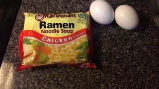 How to make Ramen Noodles with Egg