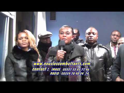 TÉLÉ 24 LIVE: Affaire Pasteur Nkosi : Soutient des combattants de France à la famille d'Eugène Ekanga.
