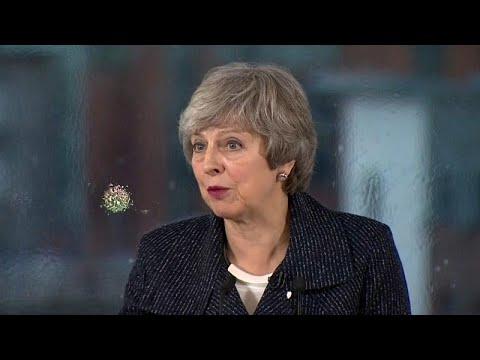 Großbritannien: May bekräftigt die offene Grenze in Irland