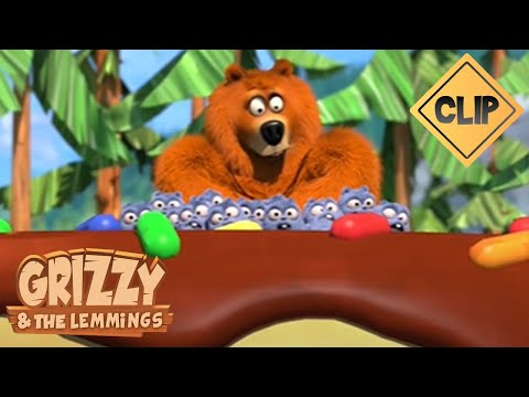 Deux Grizzy, un pot de Yummy, des Lemmings et une course poursuite !🐻🍯 - Grizzy & les Lemmings