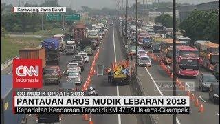 Video Ruas Tol Jakarta - Cikampek Padat, Terus Alami Peningkatan - Go Mudik 2018 | 16.00 MP3, 3GP, MP4, WEBM, AVI, FLV Maret 2019