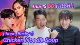 Video K-pop Artist Reaction] j-hope 'Chicken Noodle Soup (feat. Becky G)' download in MP3, 3GP, MP4, WEBM, AVI, FLV January 2017