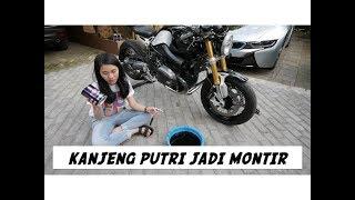 Video Cara Ganti Oli Motor ft. Kanjeng Putri - #vlog 156 MP3, 3GP, MP4, WEBM, AVI, FLV Desember 2017
