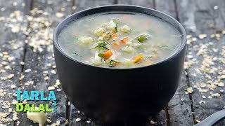 Garlic Vegetable Soup (Healthy Heart) by Tarla Dalal - YouTube