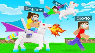 I TROLLED My Friends With EVIL UNICORNS! (Minecraft)