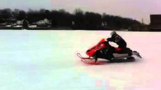 8. 2011 f8 sno pro nitrous D&D built, 40 shot, running 223 hp in this video