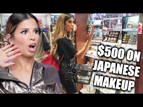I SPENT $500 ON JAPANESE MAKEUP   HIT OR MISS??