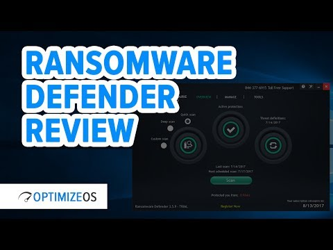 Ransomware Defender Review - Anti-Ransomware Protecton Software