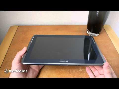 Verizon Samsung Galaxy Note 10.1 4G LTE unboxing