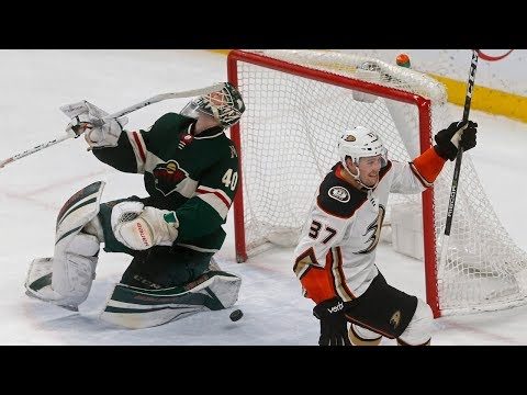 Video: Nick Ritchie ends insane 11-round shootout between Ducks & Wild