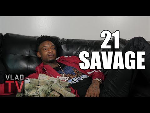 "21 Savage On Turning ""Savage"" After Getting Shot In The Neck & Losing Friend"